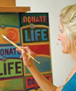 Monica Achberger, Cornea Transplant Recipient