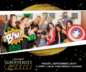 Online Ticket Sales To the Superheroes Gala 2017 is Closed