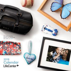 Meet the Faces of the LifeCenter Calendar for 2018